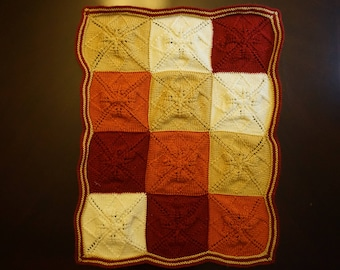 Autumn Leaves Baby Blanket