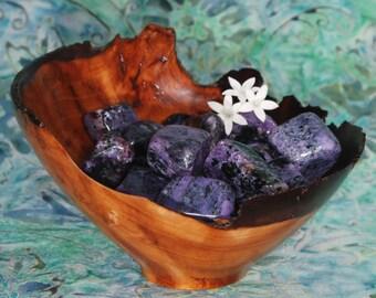 1 CHAROITE Tumbled Stone - Charoite Crystal, Charoite Healing, Charoite Gemstone, Tumbled Charoite, Charoite Tumblestone