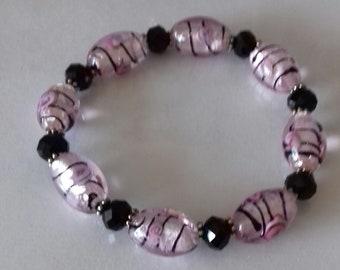 Stretch bead bracelet