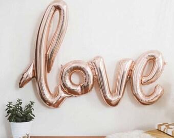 Balloon LOVE 1 m