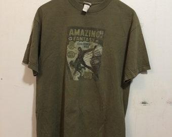 Vintage Mad Engine Marvel Graphic T-Shirt-L