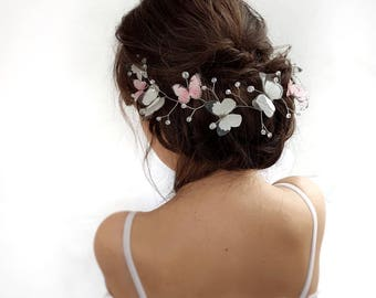 Bridal crown butterfly vine bridal Wedding hair vine Crystal Vine bridal hair accessories butterfly wedding hair accessories butterfly crown