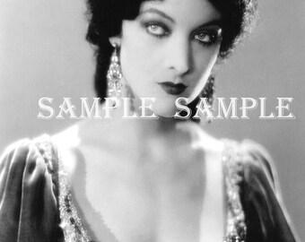 Photographie VINTAGE téléchargement automatique princesse Antique Art Print imprimable Antique photographie victorienne belle femme gitane