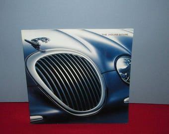 Vintage Sports Car Brochure from Jaguar