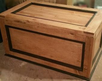 modern blanket chest