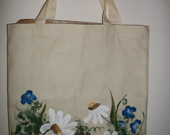 Handpainted Canvas Bags
