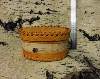 Casket from birch bark