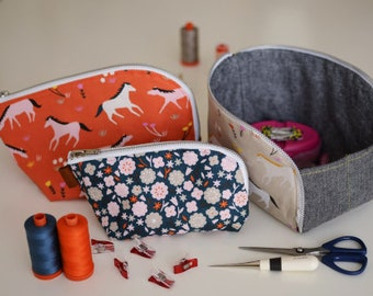 Open Out Pouch - Paper Sewing Pattern by Aneela Hoey