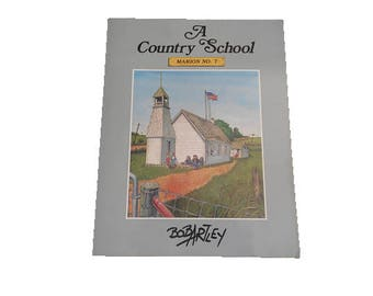 A Country School Marion No. 7  Book, Free Media Mail Shipping