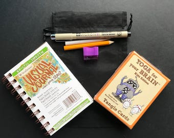 Art Journal and Tangle Card Kit
