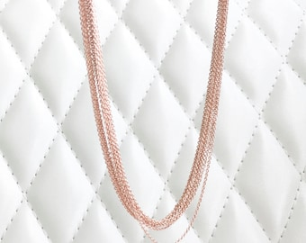 Rose Gold Dainty Chain 1 piece