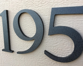 Magnetic 4 inch Traditional House Numbers Letters