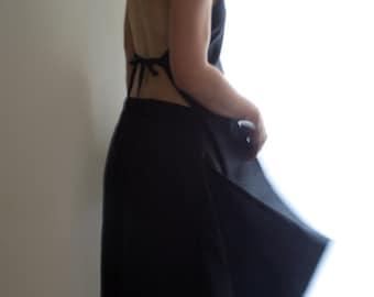 Alternative wedding outfit / Linen Jumpsuit by NervousWardrobe on Etsy