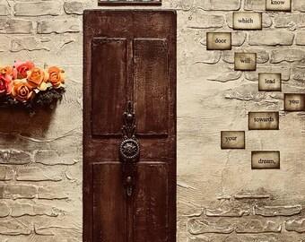 The Door Mixed media