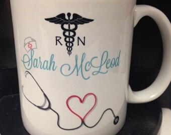 Mug, Nursing Mug, RN Mug, Quote Mug, Coffee Mug, Coffee, 11oz