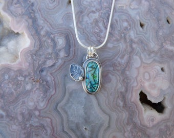Opal Sterling Silver Necklace