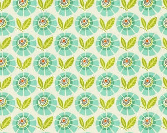 Mint Stella Fabric - By The Yard - Girl / Fabric / Floral