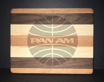 10 X 8 inch Pan American Airways Bread/Cheese Board