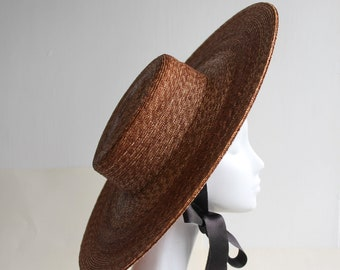 The Bentley Hat - Straw Boater
