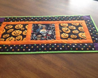 Halloween Quilted Table Runner
