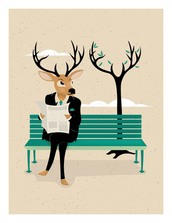 A Deer and a Tree