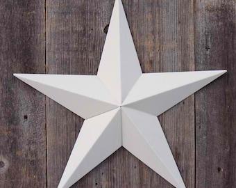 40 Inch Painted Galvanized Heavy Duty Metal Amish Tin Barn Star