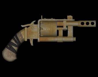 3D Files for Fallout 4 Pipe Pistol (Digital Download)