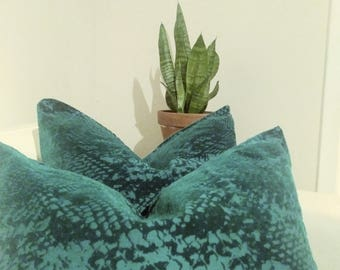 Green Decorative Pillow Covers