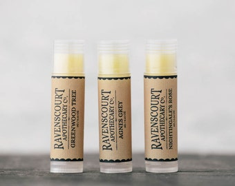 Pack of Three Vegan Lip Balms