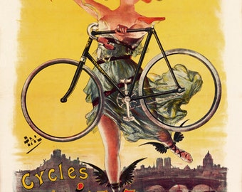 Cycles Clement Poster (#0508) 6 sizes