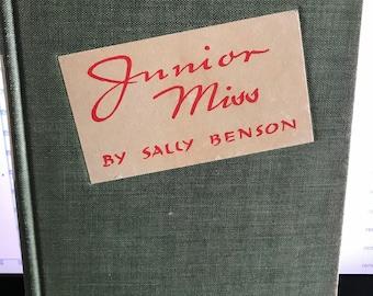 Vintage Book - 1941 Junior Miss by Sally Benson