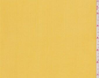 Sunshine Yellow Silk Chiffon, Fabric By The Yard