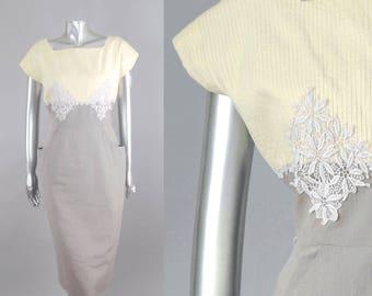 Robe de thé Chantilly | robe vintage des années 1950 | robe vintage des années 1960