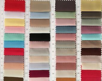 Satin Fabric Color Chart (Versionn May 6, 2015)