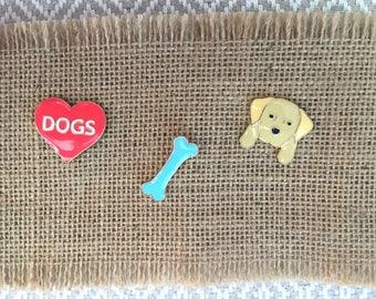 Puppy Love Pins