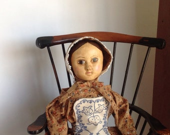 "Reproduction Izannah Walker Doll - ""Hannah"""