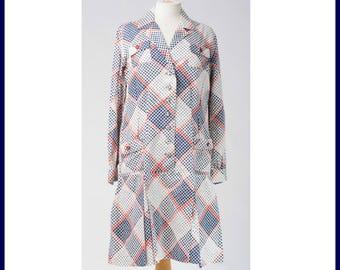60's dots in Dress-Coat