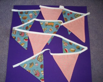 Vintage Style Kitchen Bunting