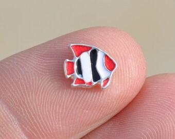 1 Memory Locket Fish Charms   FL147
