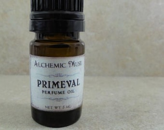 Primeval - Perfume Oil - Ancient Woods, Oakmoss, Patchouli