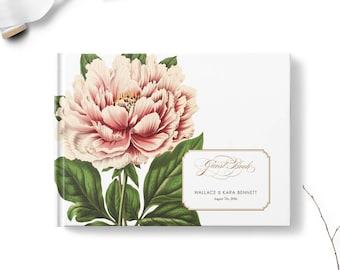 Floral wedding guest books, Landscape, Wedding guest book, Botanical