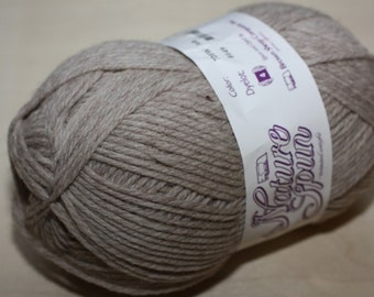 Nature Spun Worsted Weight, color 720W, lot 0158   Ash