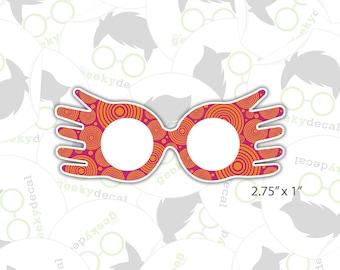 Sticker - Luna Lovegood Spectrespecs - Harry Potter Inspired Sticker