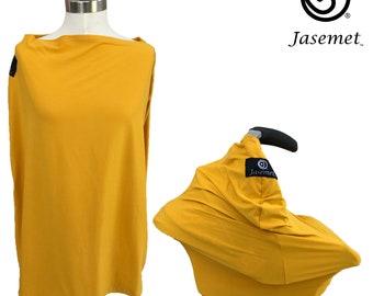 Nursing Cover Scarf, Breastfeeding Scarf, Nursing Poncho, Nursing Scarf, Breastfeeding Cover, Jasemet Cover, Mustard