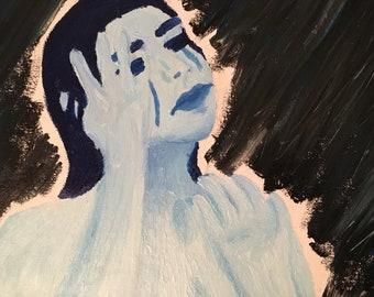 color me blue - CANVAS PRINT