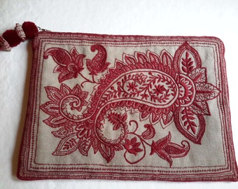 Hand Embroidered CLUTCH