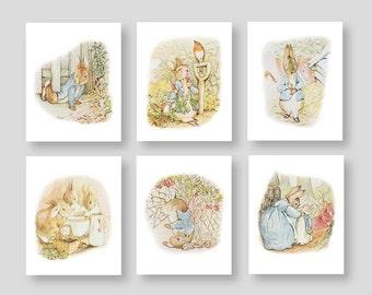 Peter Rabbit Wall Decor - Beatrix Potter Nursery - Storybook Nursery - Gender neutral Nursery Decor (PR-001)