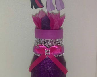 1pc purple/pink vas centerpiece