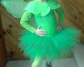 Green Fairy Tutu Costume