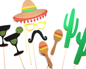 Cinco de Mayo Photo Booth Props ~ Mexican Photobooth Props
